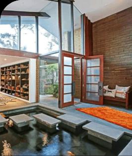 Kolam Koi Dalam Rumah